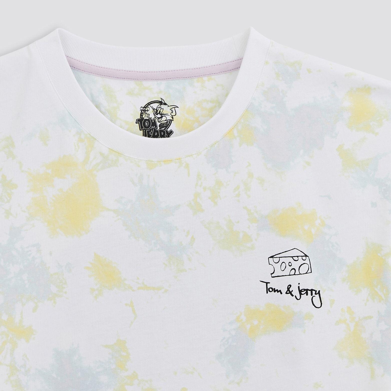 Tee shirt imprimé Tom&Jerry