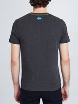 Tee shirt col rond imprimé Space Invaders
