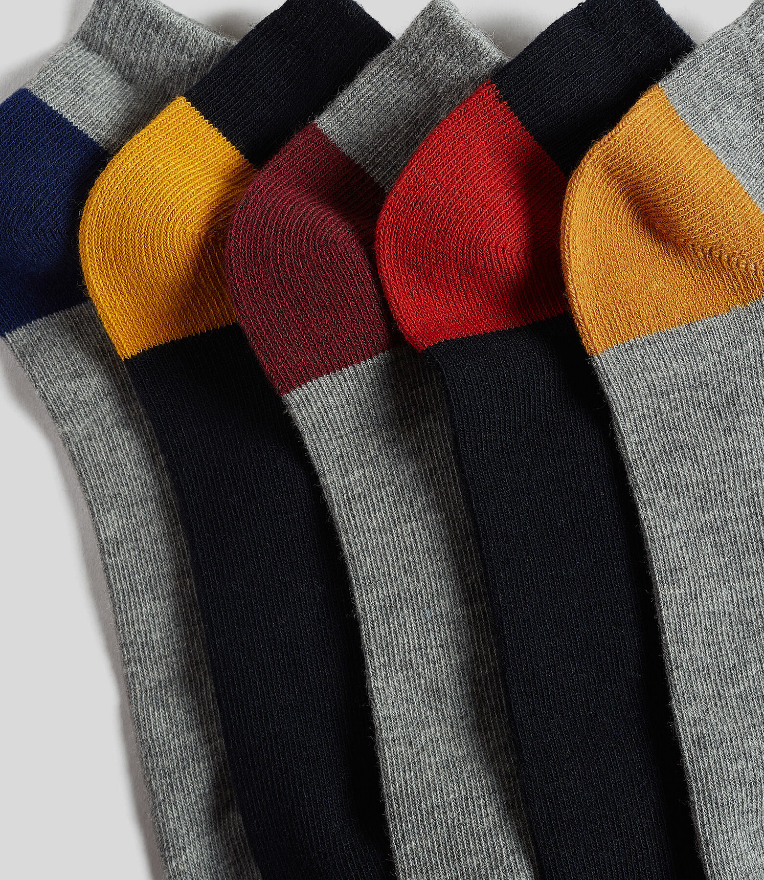 Chaussettes basses par lot de 5