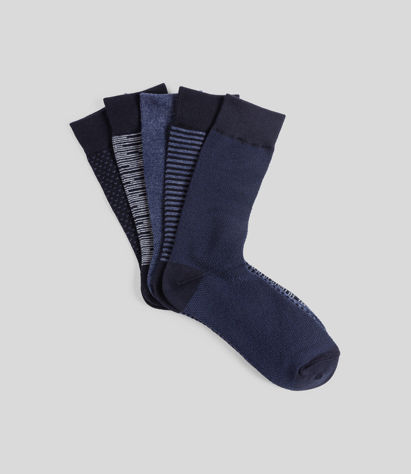 Lot x5 paires de chaussettes homme