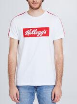 Tee shirt col rond imprimé Kellogg's