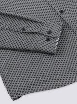 Chemise slim imprimé géométrique