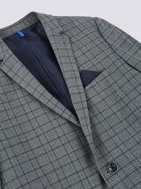Veste de costume à carreaux