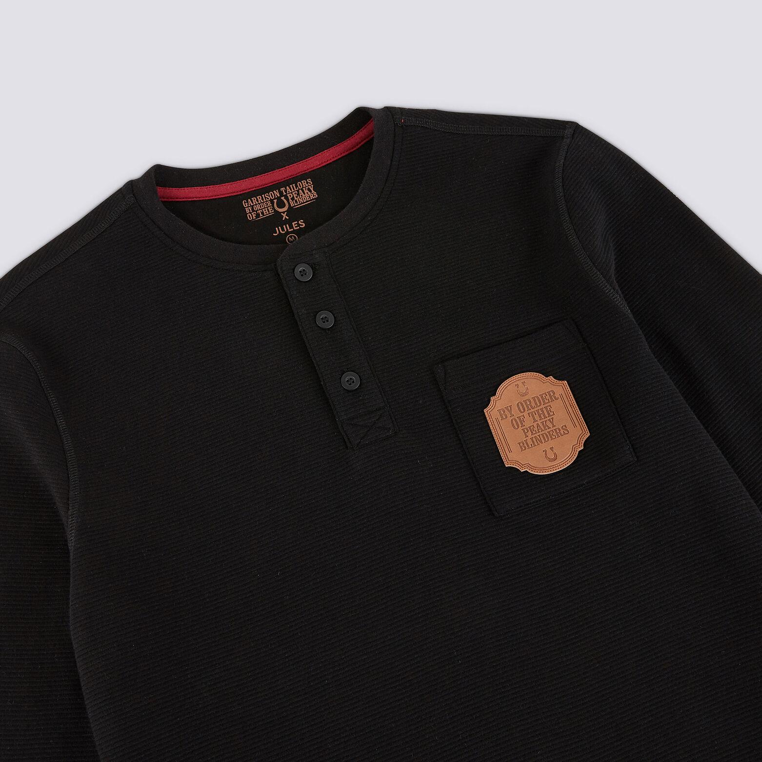 Tee shirt col tunisien Peaky Blinders.