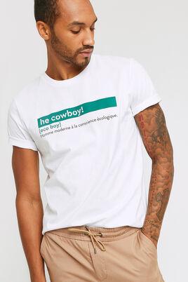 T-shirt col rond avec définition