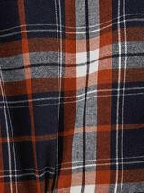 Chemise regular carreaux ombré coton
