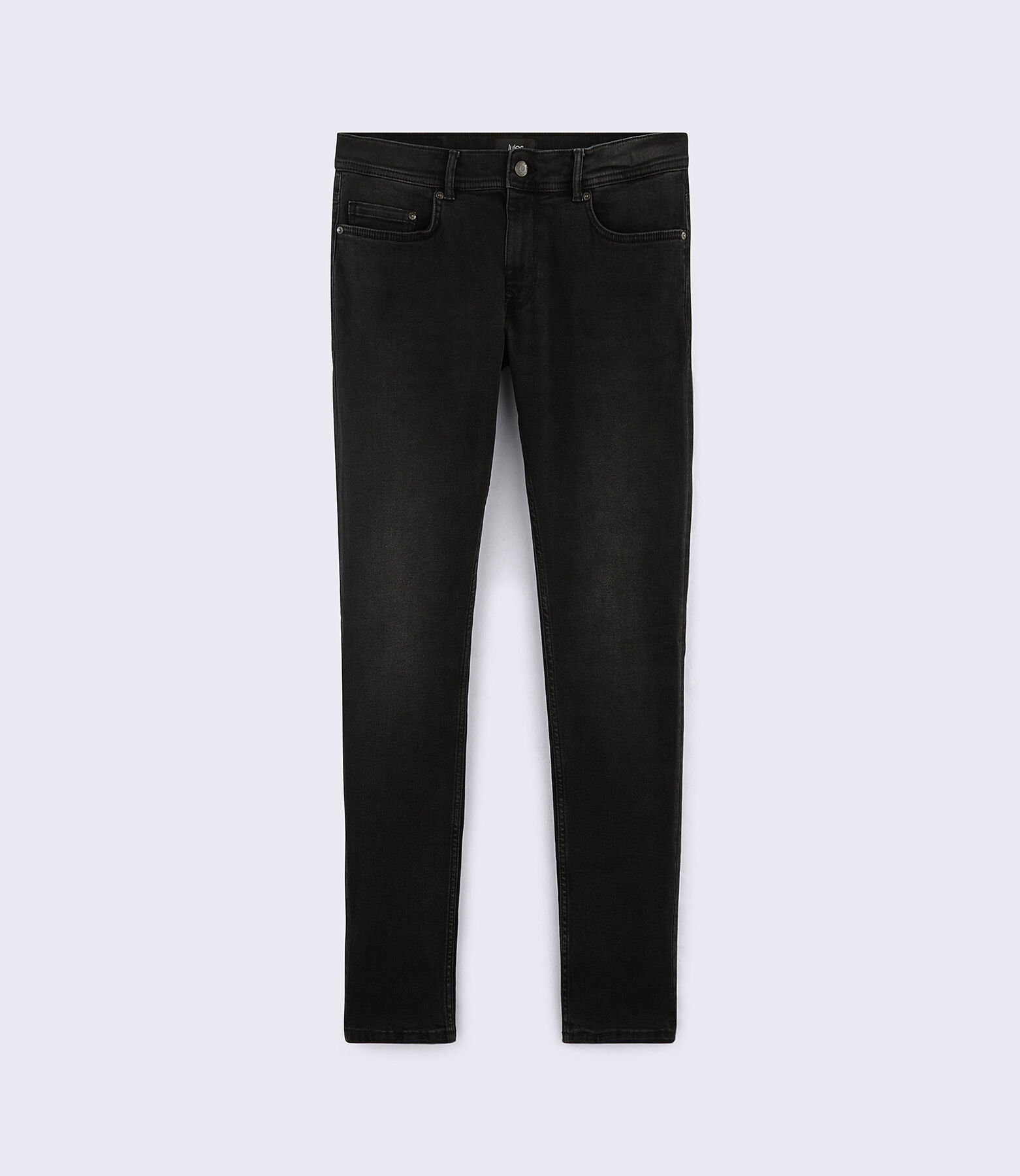 Jean Skinny noir lavé