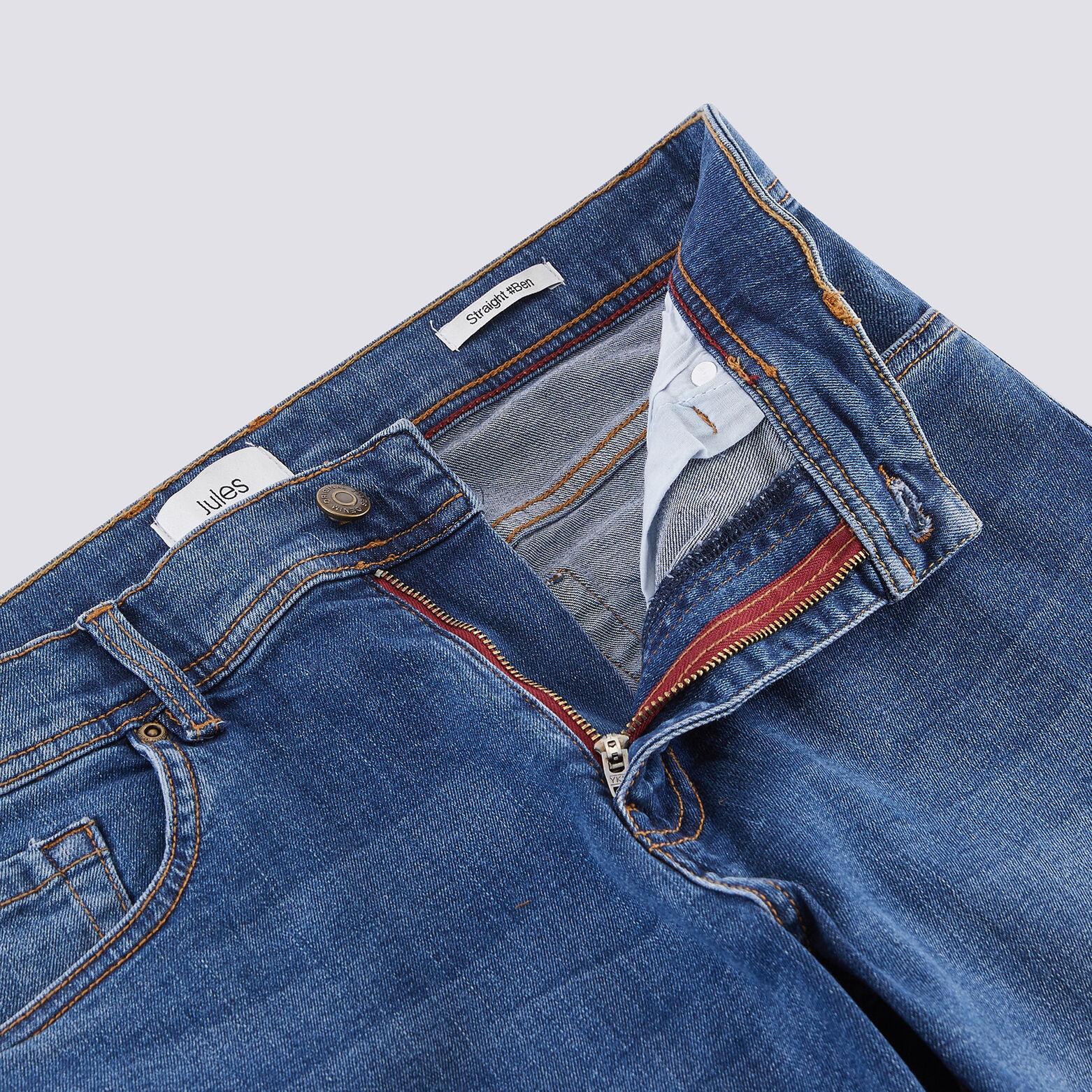 Jean straight #Ben bleu clair stone