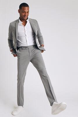 pantalon de costume extra slim en matière bistretc
