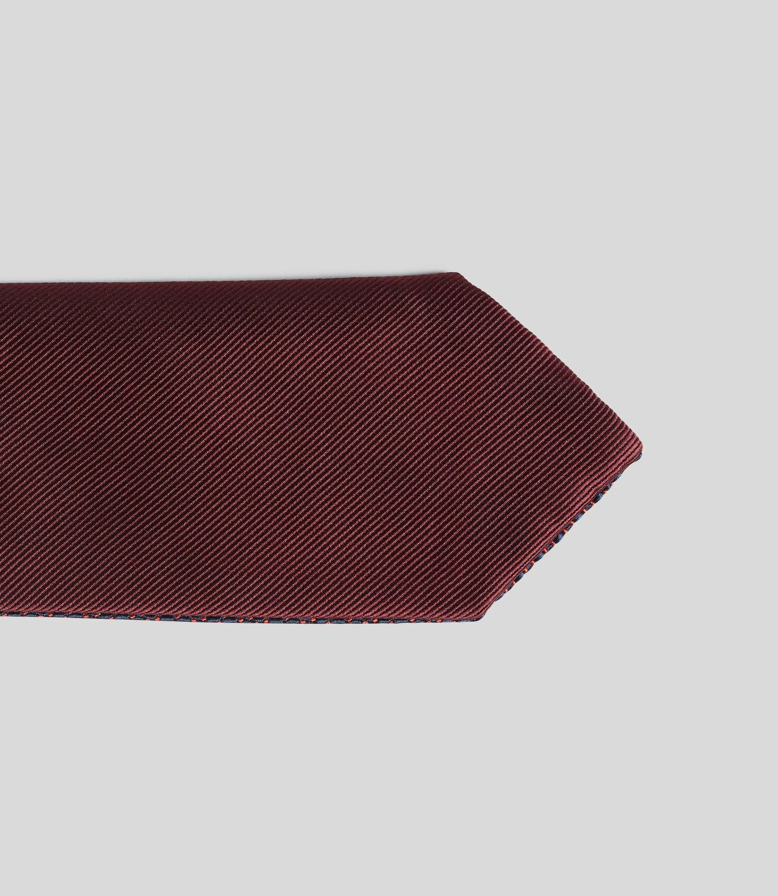 Cravate reversible homme
