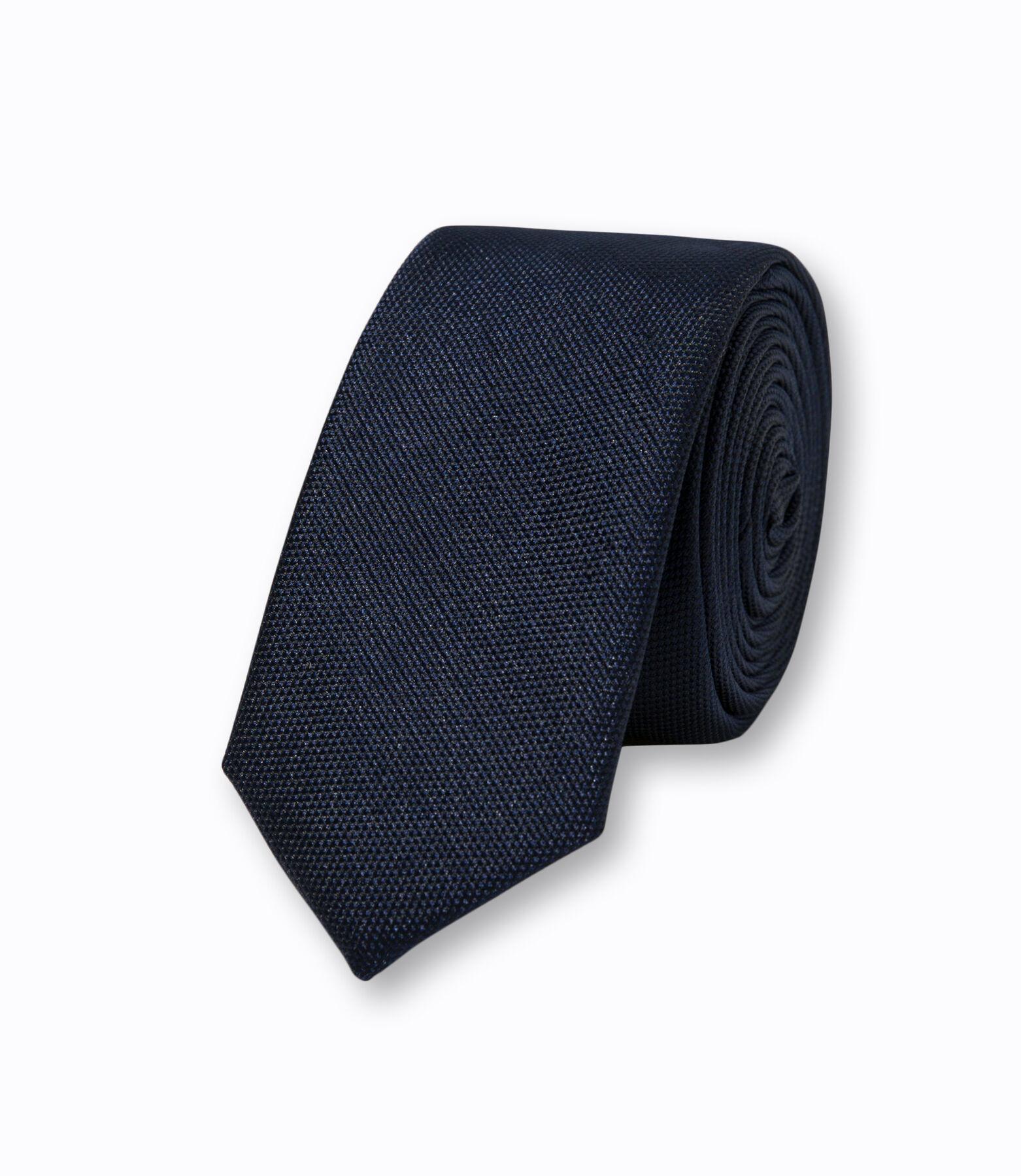 Cravate Bleu Marine Foncé