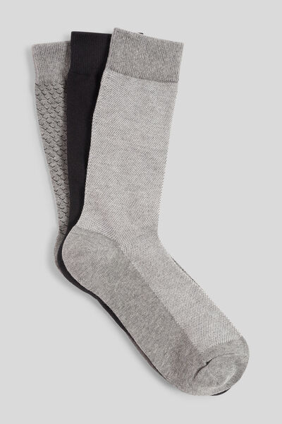 Lot de 3 paires de chaussettes fantaisie