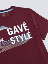 Tee-shirt imprimé région Aquitaine