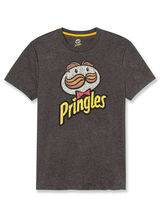 Tee shirt col rond imprimé Pringles