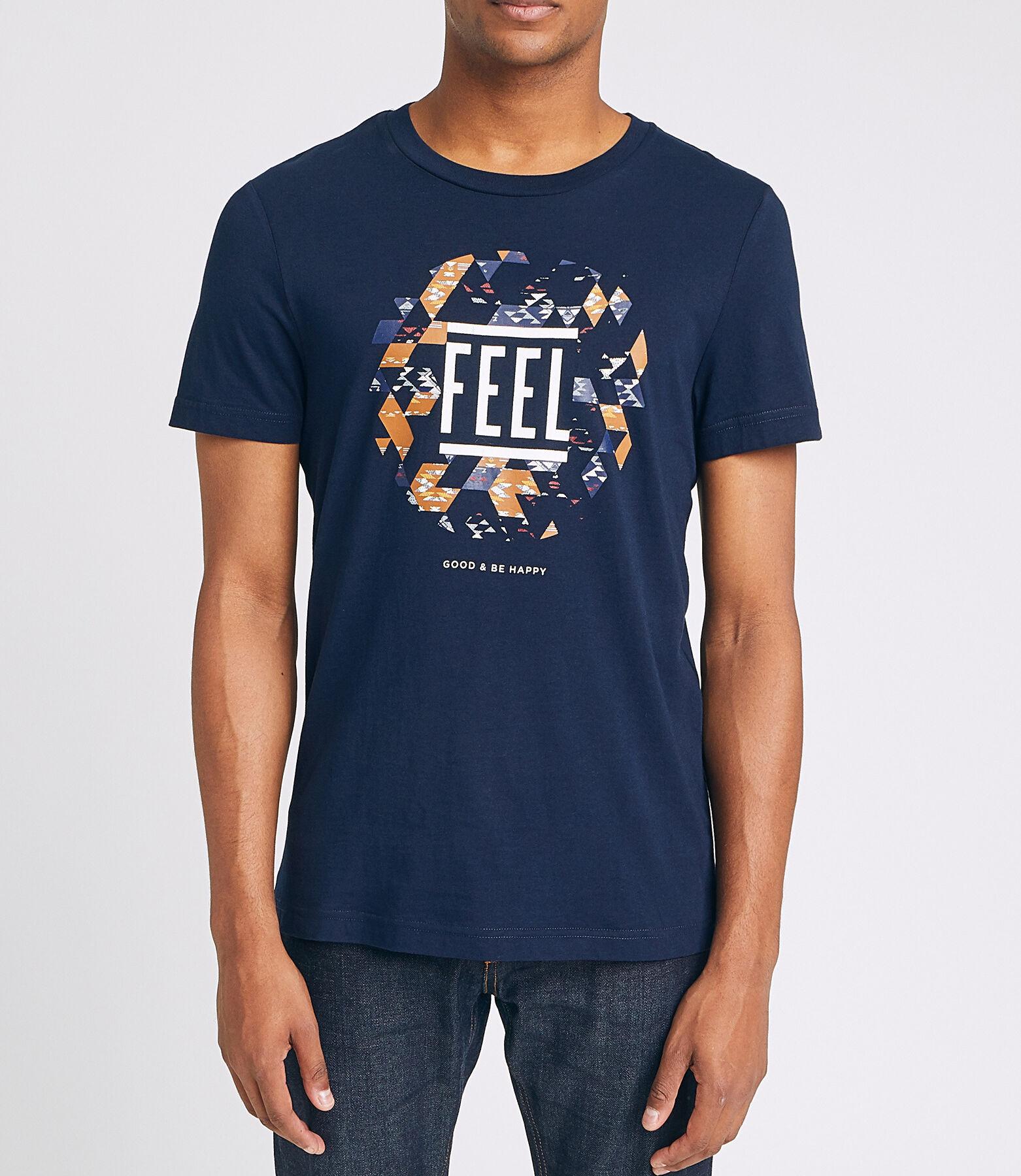 T-shirt FEEL GOOD & BE HAPPY