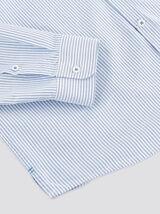 Chemise regular oxford à rayures coton issu de l¿a
