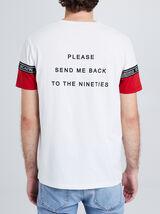 "Tee shirt col rond ""Nineties Attitude"""