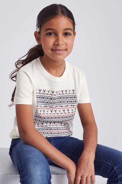 Tee shirt enfant Cerf graphique