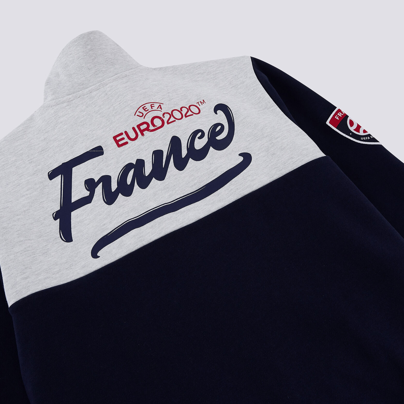 Sweat zippé sous licence officielle UEFA EURO 2020