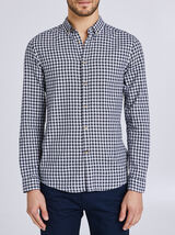 Chemise à carreaux coupe slim