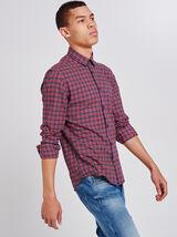 Slim geruit hemd