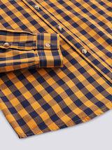 Chemise slim à carreaux