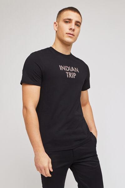 Tee-shirt impression devant