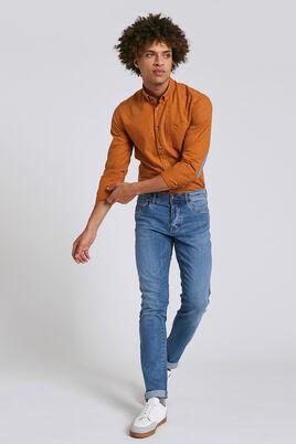 Slim jeans Tom, blauw, licht gewassen