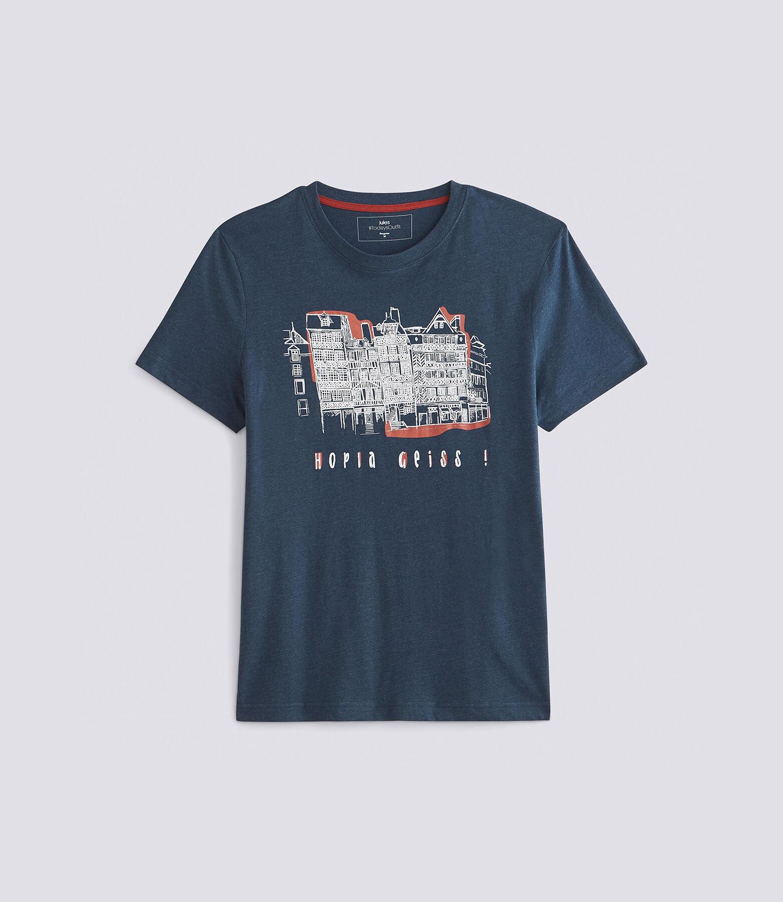 T-shirt met print van regio Alsace