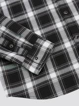 Chemise regular à carreaux coton biologique
