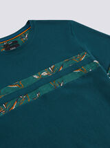 Tee Shirt bande tropicale