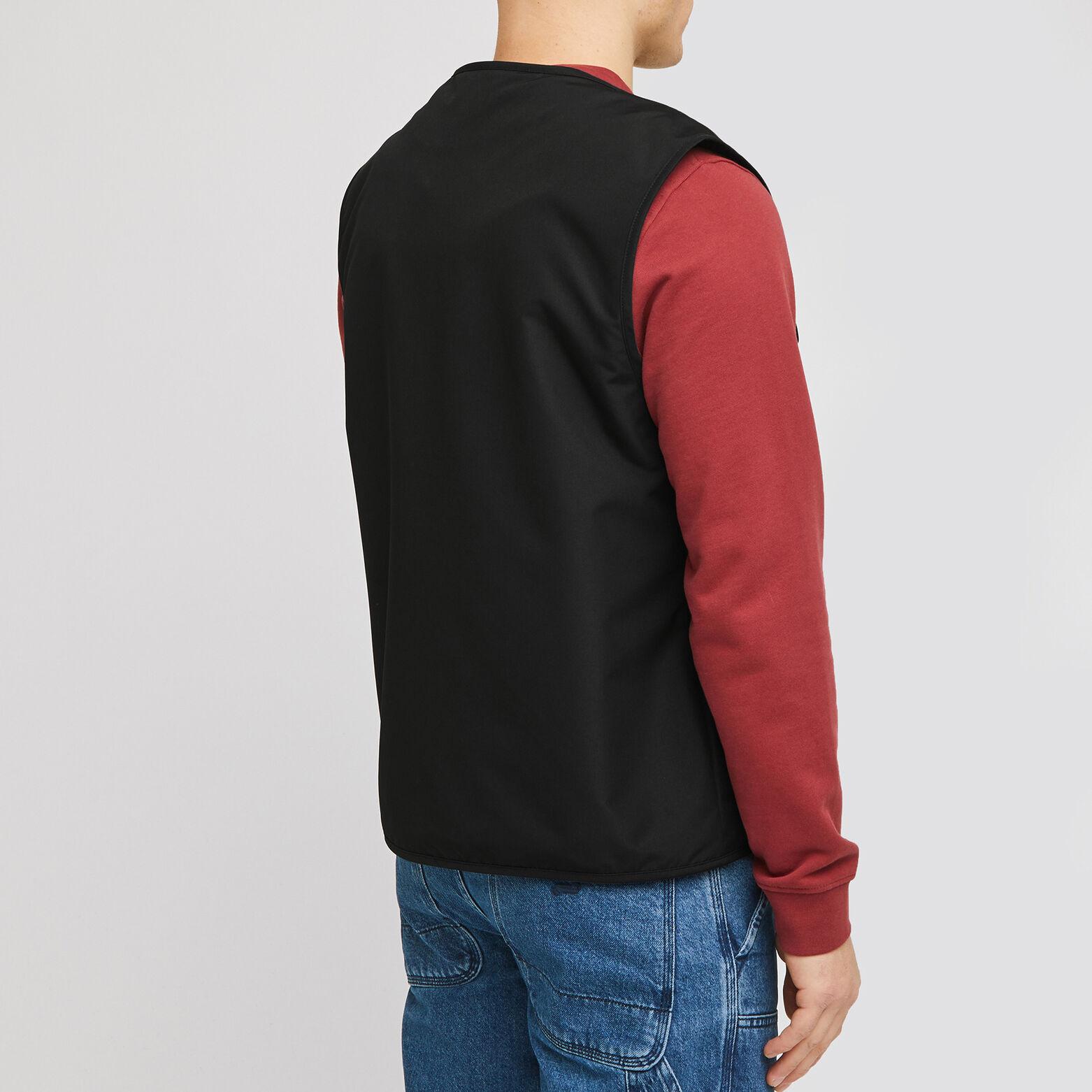 Blouson polyester sans manches