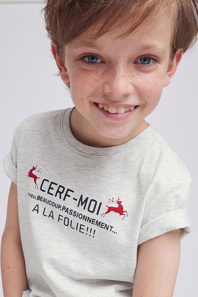 T-shirt enfant CERF MOI