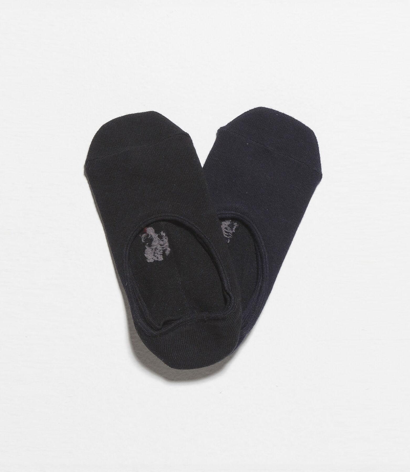 Chaussettes invisibles lot de 2 paires