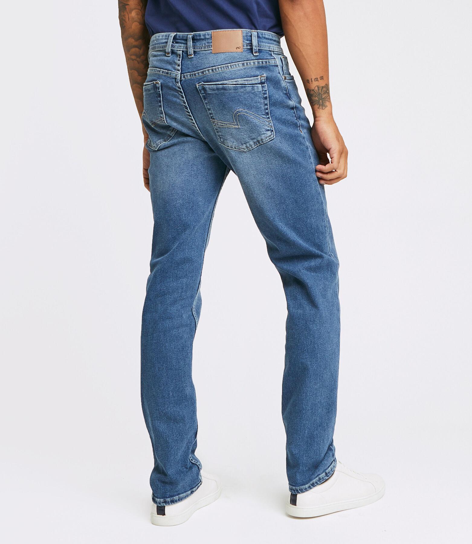 Jean Straight #Ben 4L bleu