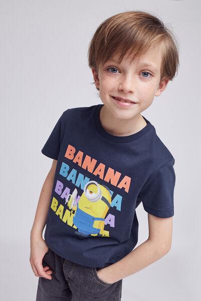 Tee shirt enfant Les minions BANANA