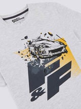 Tee shirt col rond imprimé Fast and Furious