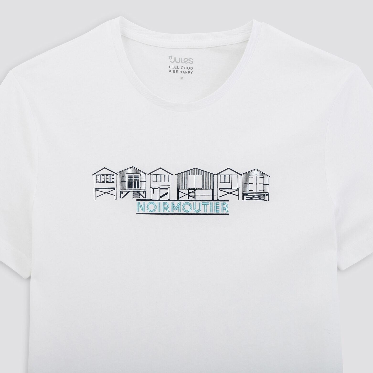 Tee-shirt imprimé station  balnéaire NOIRMOUTIER