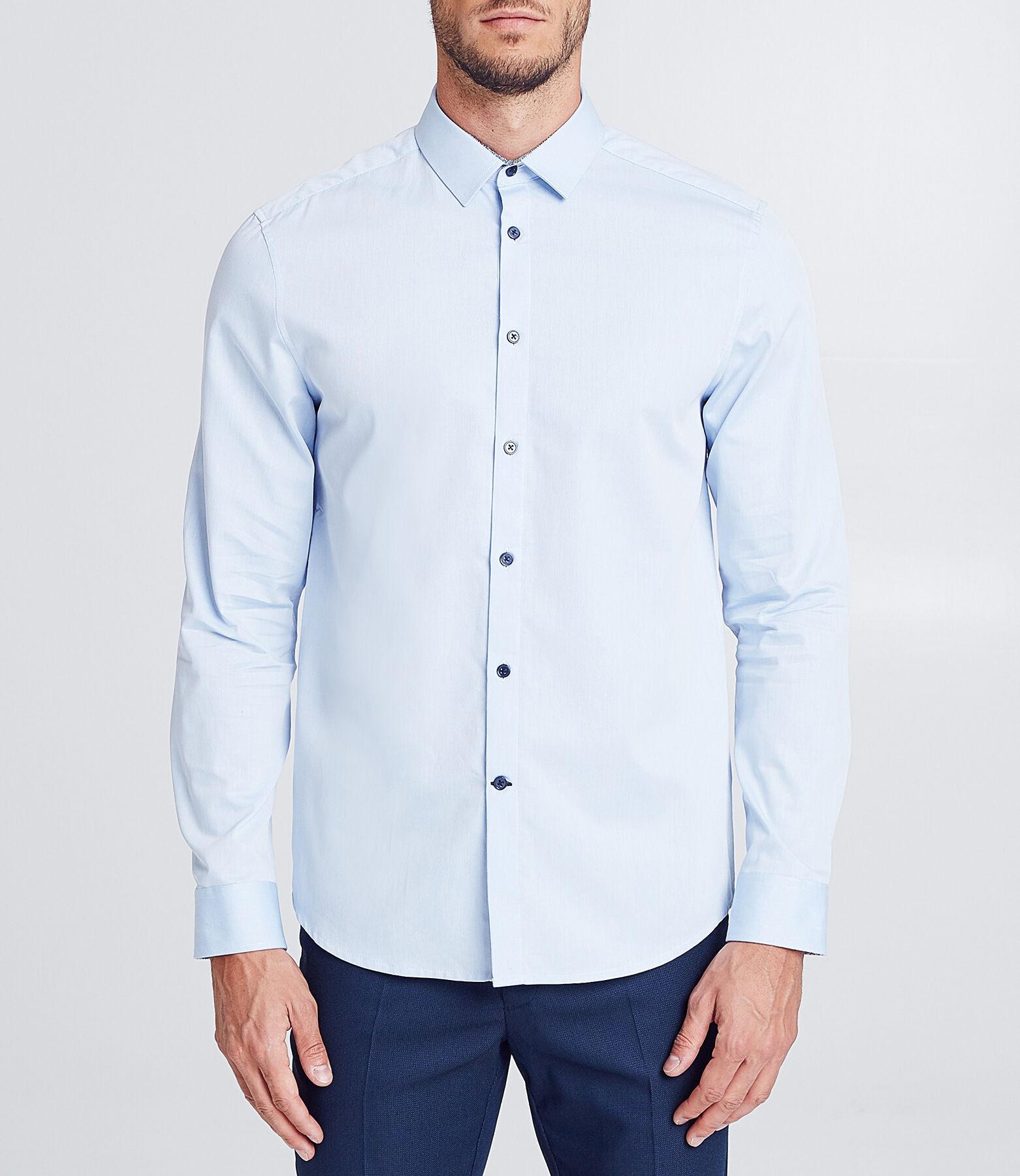 Effen regular hemd