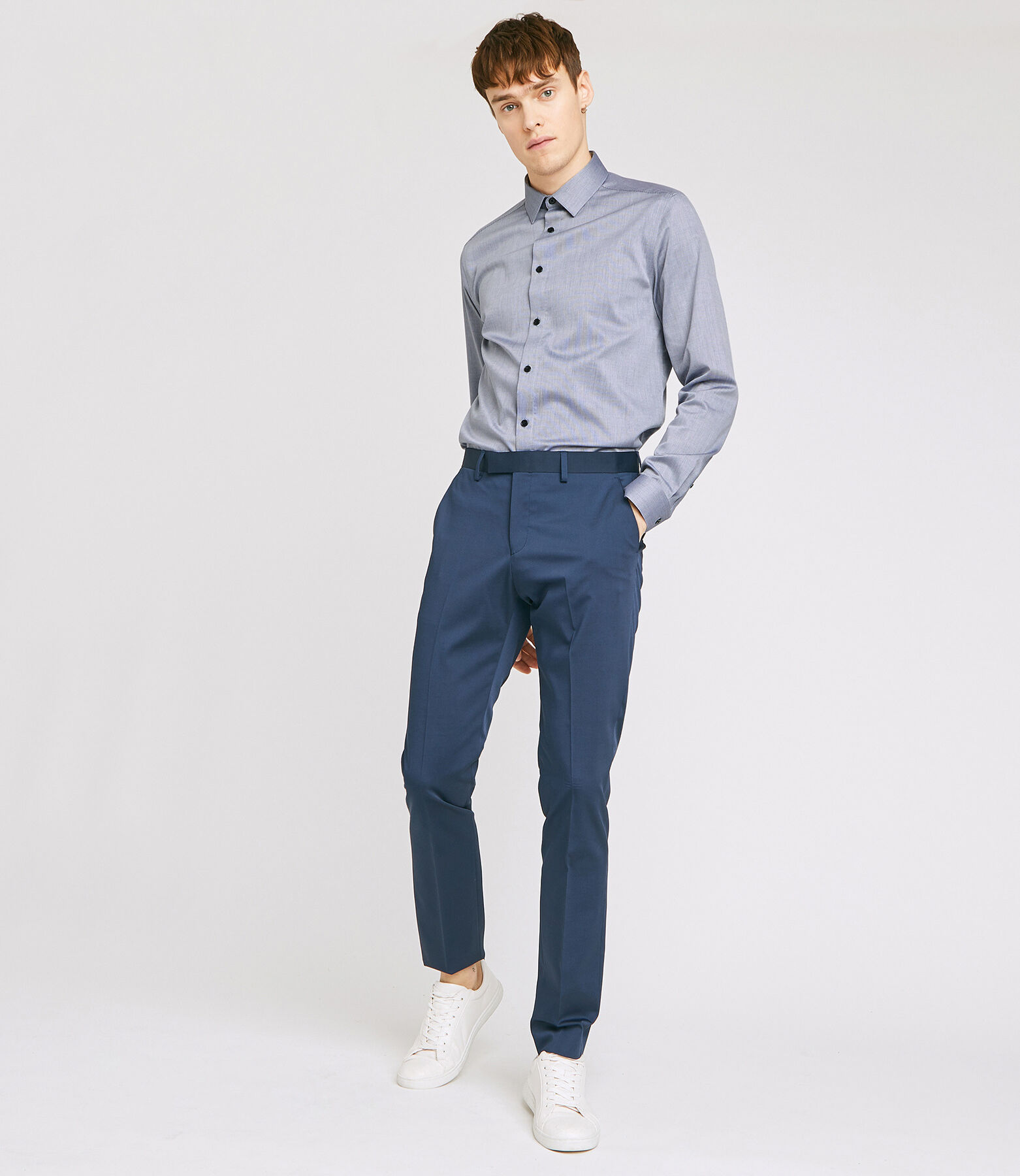 Slim hemd, makkelijk te strijken