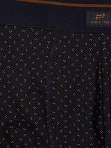 Boxer unitaire imprimé coton issu de l'agriculture