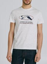 T-shirt met knipoog naar de regio Auvergne