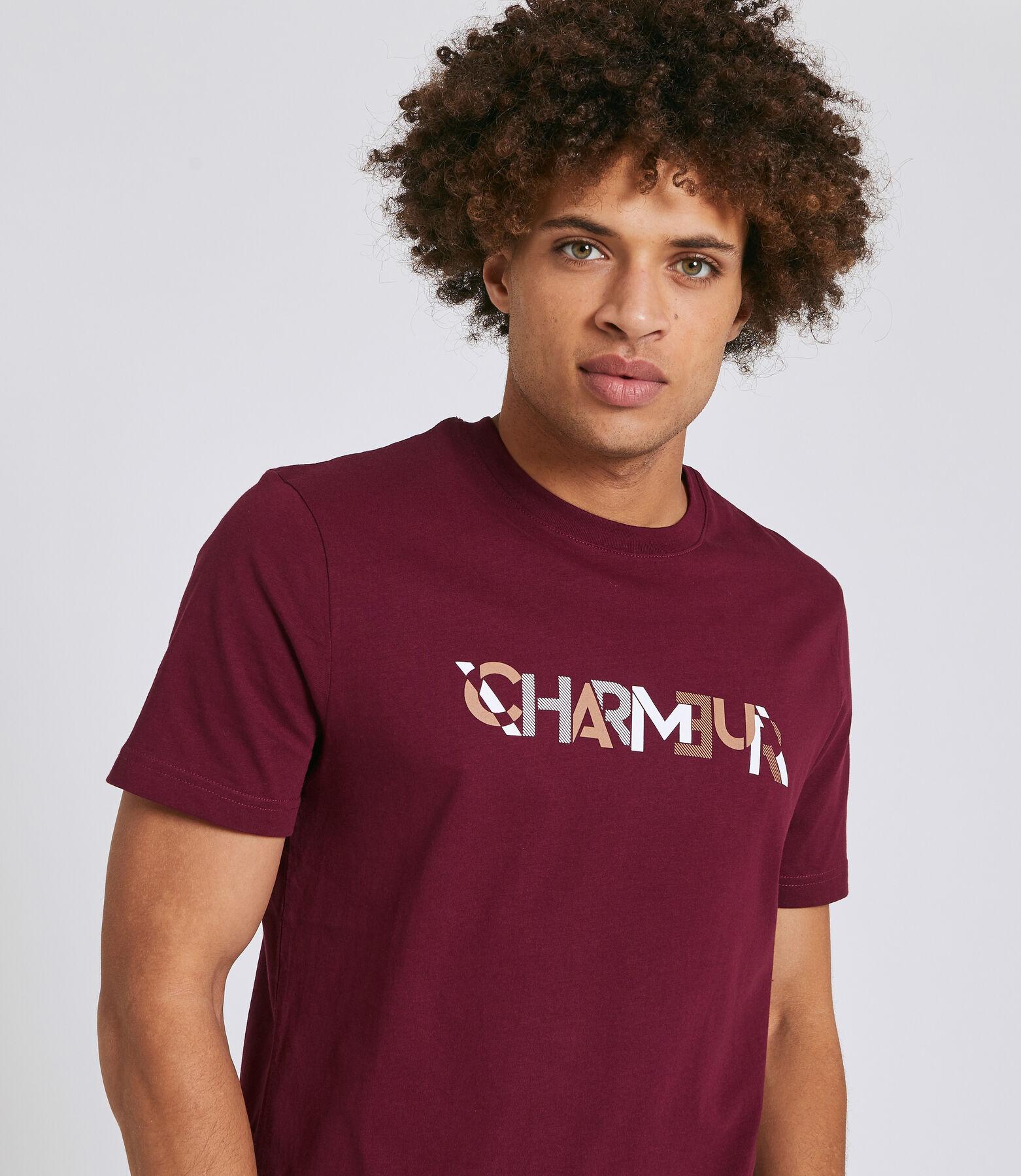 """Tee shirt imprimé """"CHARMEUR"""""""