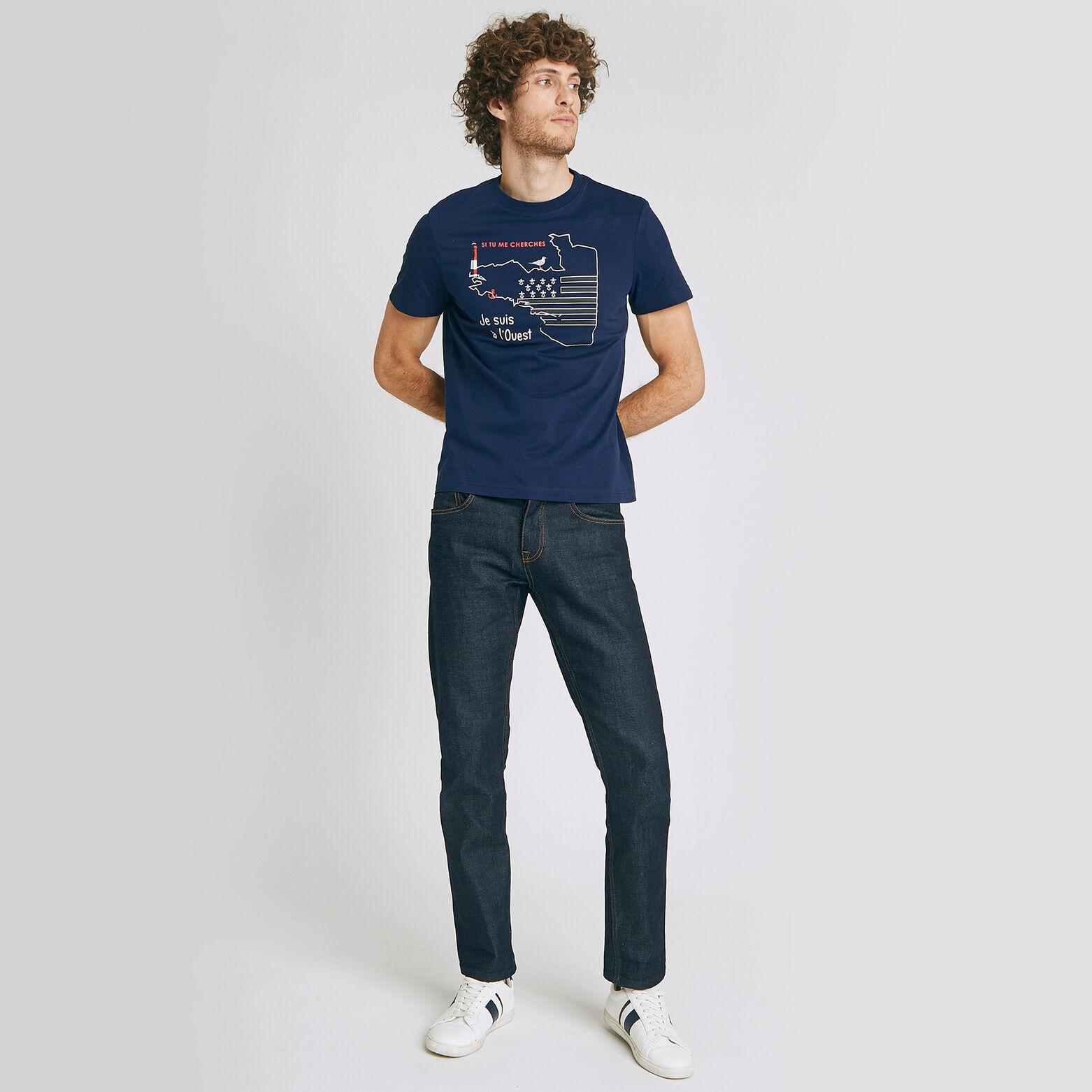 Tee-shirt imprimé région Bretagne