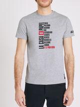 T-Shirt Gris Chiné Moyen