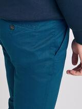 Pantalon chino skinny uni