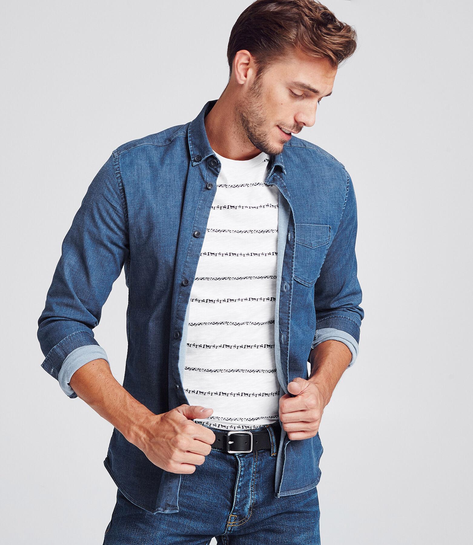 Chemise jean stretch Slim