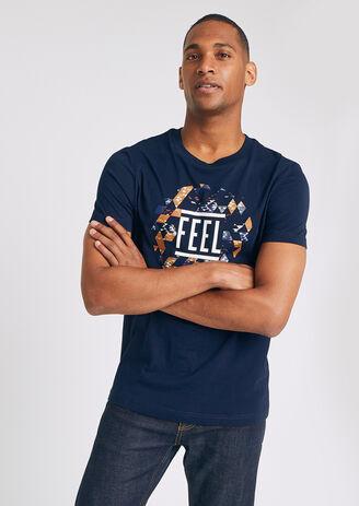 T-shirt fell good &be happy xxl homme jules