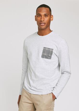 T-shirt poche prince de galles xl homme jules