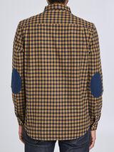 Chemise droite en flanelle